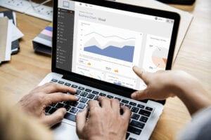 Digital accounting using a computer