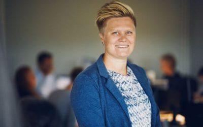 Christina Lyng Garde - bogholder ved Sandgrav Solutions